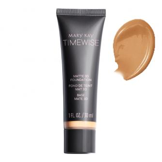 TimeWise® Matte 3D Foundation Bronze W 100