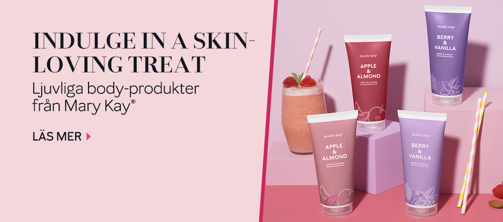 LE Mary Kay® Scented Shower Gel & Body Lotion Set Apple&Almond
