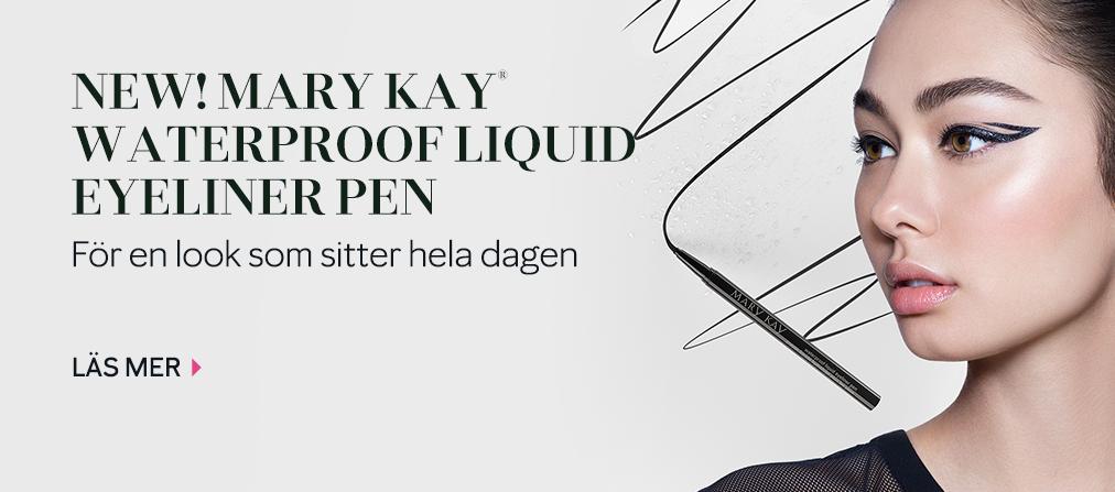 Mary Kay® Waterproof Liquid Eyeliner Pen Intense Black